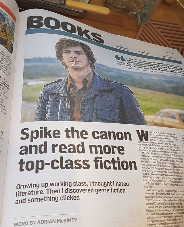 Interesting article on reading popular fiction in Weekend Times and who reads it and who writes it. Point is to read what you like. #reading #noLitSnobbery