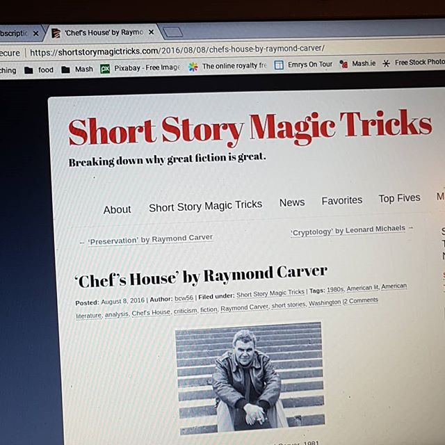 Short story magic tricks is a labyrinth of all that is brilliant about the short story. #shortstory #writing #loveRaymondCarver