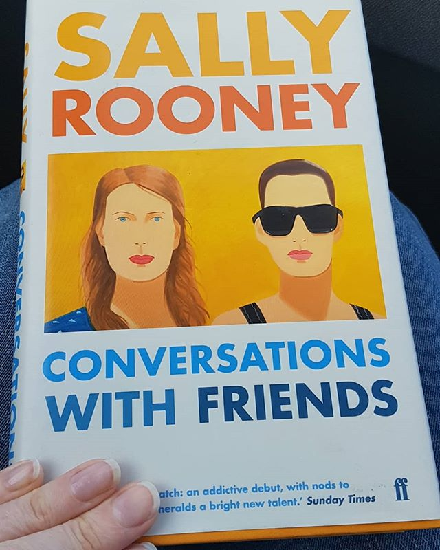 Conversations with friends by Sally Rooney. Interested in this for a while.