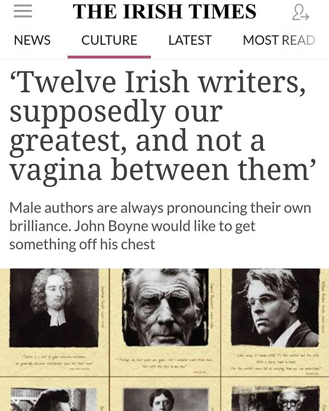 John Boyne has unique take on  female and make writers. While I agree with some points, I disagree on others. We can't say any female is better at writing because of their position in the home but some writers are better than others depending on their writing ability.. And that's another article!
