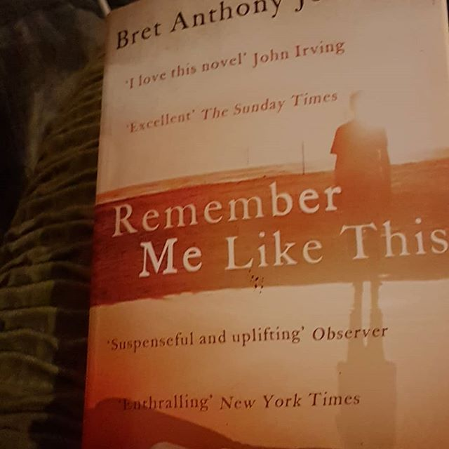 Bret Anthony Johnston and his novel, Remember me like this is my next book club read. Love reading Bret's short stories also and getting stuck into this on a cold night in front of the fire. It's bliss, I tell you!