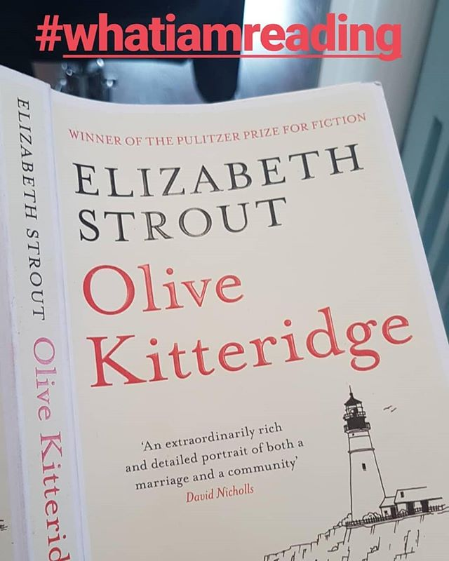 Olive Kitteridge by Elizabeth Strout. This book is made up of various seemingly disjointed stories of characters all connected by Olive! Enjoyed first story very much. Requires switch to move from story to story but Elizabeth writes do nicely, it's made easier. . .