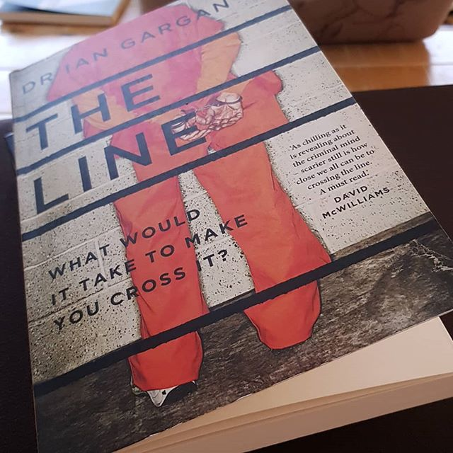 What I'm reading now. Picked up a copy of The Line by Dr. Ian Garvan today. Have been dying to read this for a while. Based on the author's most compelling cases and interviews, many of them society's most violent offenders. It seeks to unlock the criminal mind and to expose how fragile our notions of good and bad, right and wrong, really are.