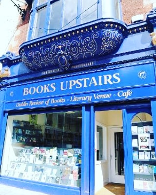 Irish Book Week kicks off today until 3rd November. Books upstairs in Dublin City is my favourite bookshop. It now has a beautiful coffee shop upstairs with cool views. They regularly host poetry and fiction readings and champion the emerging to the more commercially successful writers. Bookshops, to me, should be staffed by people who read books(a no brainer, you might think but I've been in ones where book staff had not heard of Carver) and who are not up their arses. Sorry to be vulgar but reading and selling books shouldn't make anyone feel superior. The owners and staff of Books Upstairs are book lovers and friendly without pushing books on you. They recently pushed their bookshop through to the other shop next door. The children's section is full of quirks. They sell a big range of lit mags, bookmarks, book loot etc as well as books!  Next time you're in need of a book, don't say you didn't know! . . . .