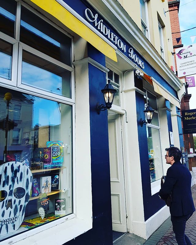 Middleton Books is an independent Bookshop in lovely Cork. A huge kiddies section with nice emphasis on anything Cork related in the adult sections. Just browse! . . .