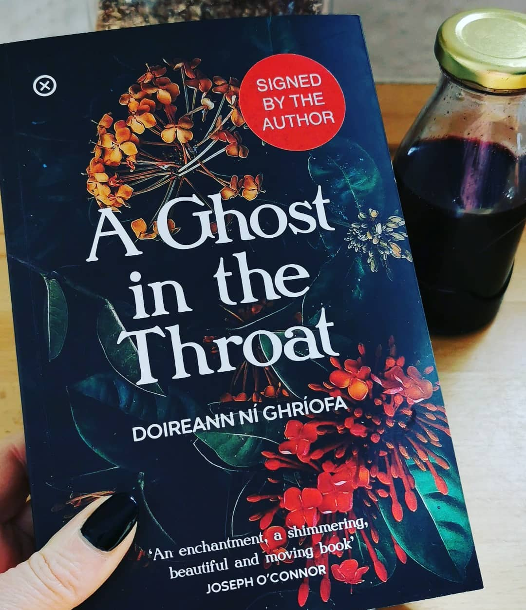 A ghost in the throat by Doireann Ni Ghriofa. Really enjoyed this mix of getting to know about Doireann and her life as well as her utter fascination with Eibhlin Dubh Ni Chonaill. Eibhlin composed Caoineash, a lament for her husband Art when he was murdered and Doireann goes on a mystery research trail trying to find out why Eibhlin was deleted from history. The book also contains Doireann's translation of the poem. This book was a easy but challenging read and one I read ultra quickly. Recommended from me!