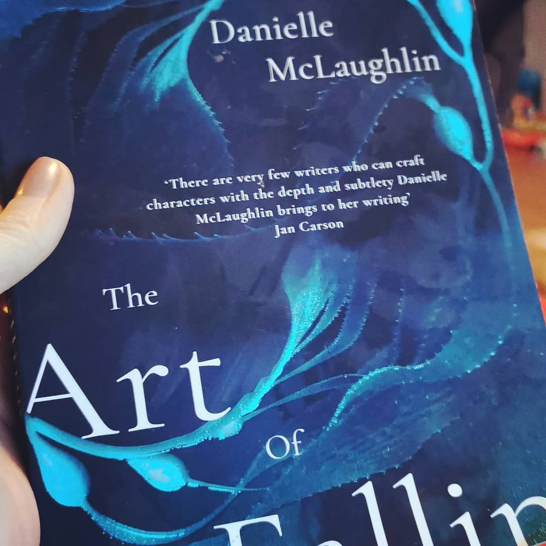 The Art of Falling by Danielle Mc Laughlin-REVIEW  I read a review of this novel last weekend. The reviewer shared a quote that says a reviewer should never review a book on what it should or could be but only on what it is. I may have the quote slightly wrong but it does pay to keep this in mind when reviewing Danielle Mc Laughlin's debut novel. Danielle is a supreme and natural short story writer and I, and many people, were very excited about this novel. It does not let down in many aspects. The plot is pacey. Plots should be pacey, shouldn't they? Lots of stuff happens to the characters in the novel and that's always a good thing. I find the floating around and discussion, thinking heavy type of novel less generous for me. The ideas and the drama are interesting too. It's set in Cork, the setting is described beautifully and I couldn't think of a better way to escape in a pandemic. All the settings in this novel are fresh and alive. Setting is done extremely well here. It's tells the story of Nessa. Nessa is a strange fish. She comes across as cold and unthinking but plausibly so for the reader. Nessa is in a right mess. She's about to display a statue from a very famous artist in her art gallery and a woman from his past comes forward to claim it as her work. Nessa also has a mixed up and naughty past as does her marriage. I'll say no more about the plot! I read this extremely quickly. That's a brilliant sign. Though I said at the beginning that I should not compare this work with Danielle's short fiction working, I struggled not to but I am rewarded throughout with many, many fine instances of beautiful prose and the last chapter won it for me. The atmosphere and essence that is conveyed in these few pages alone are beautiful and I'm left happy and satisfied as a reader.